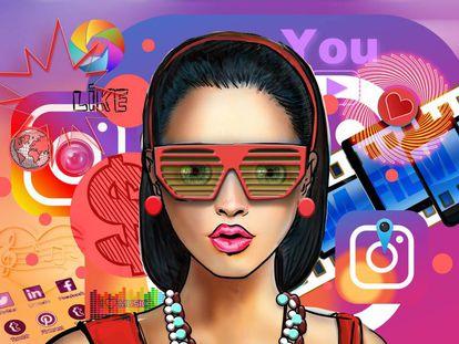 En Europa hay 8 millones de influencers en Instagram, según un estudio de Influencity