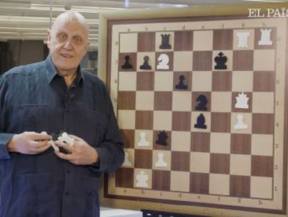El multicampeón de Moscú ataca en tromba y produce, a los 68 años, la partida más bella de 2002