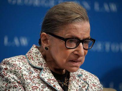 La jueza del Tribunal Supremo Ruth Bader Ginsburg, Washington.