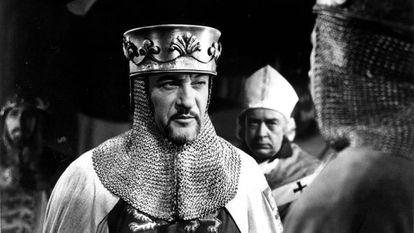 George Sanders en 'El Rey Ricardo y las cruzadas' (1954).