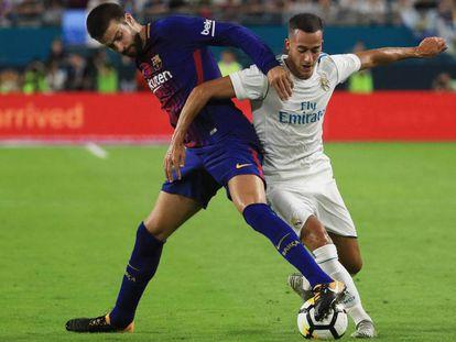 Real Madrid y Barcelona se enfrentan en la International Champions Cup de Miami