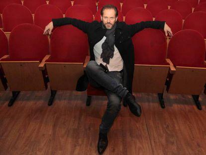 Nacho Vidal, en el Teatro Abadía de Málaga, el pasado fin de semana. En vídeo, el actor habla de su enfermedad y del falso positivo en VIH.
