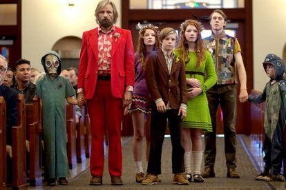 Fotograma de la película 'Captain Fantastic'.