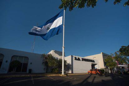 Sede del diario nicaragüense La Prensa, en Managua.