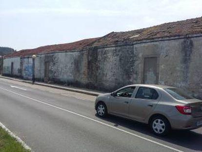 Final del paseo marítimo de O Areal, en A Pobra, donde supuestamente Diana debía enfilar el camino de un kilómetro que lleva a su chalé.