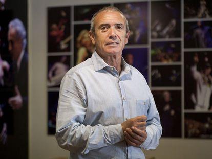 Martín Pérez, responsable del Festival Jardins de Pedralbes.