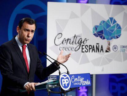 El coordinador general del PP, Fernando Martínez-Maillo, el pasado 19 de marzo.