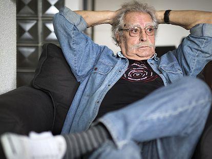 El fotógrafo Ramón Masats, en su casa de Madrid.