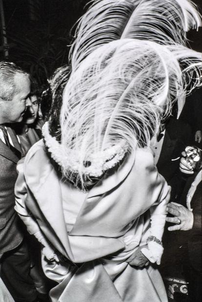 Rose Kennedy en el baile de Truman Capote en el Hotel Plaza de Nueva York, el 28 de noviembre de 1966. |