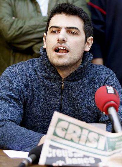 El activista Enric Duran.