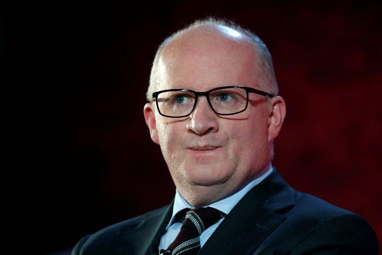 Philip Lane, economista jefe del BCE y miembro del Comité Ejecutivo del organismo, en París.