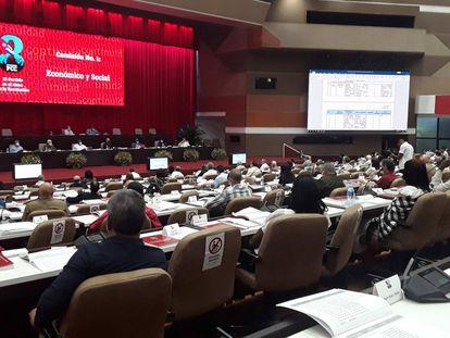 Inició segunda jornada del 8vo. Congreso del PCC