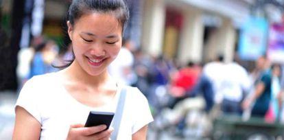 China acumula el 21% de todas las líneas móviles del mundo.