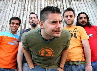 El grupo de musica Despistaos