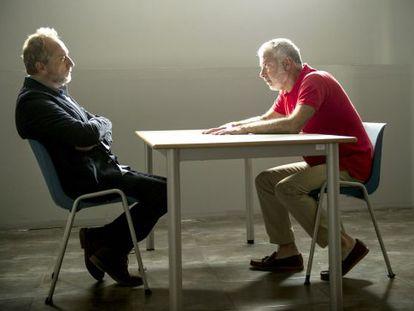 Gonzalo de Castro (a la izquierda) y Adolfo Fernández, en uno de los episodios de 'B&b'.