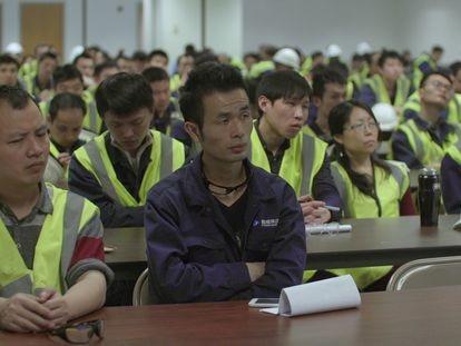 Una imagen del documental 'American Factory'.