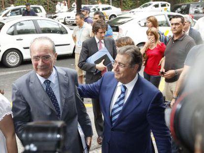 Los alcaldes de Málaga y Sevilla, Francisco de la Torre y Juan Ignacio Zoido.