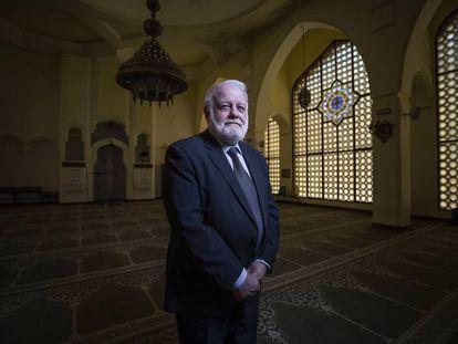 Riay Tatary, presidente de la Comisión Islámica de España en la Mezquita Central de Madrid.