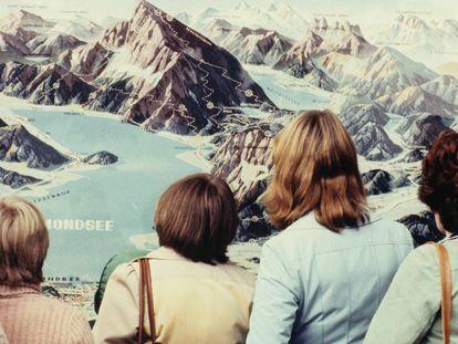 'Salzburg' (1977), una de las fotografías de la exposición en el Museo Reina Sofía.