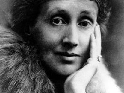 La escritora británica Virginia Woolf.