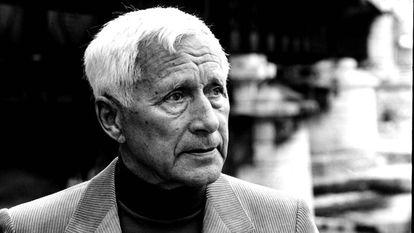 El escritor alemán Ernst Jünger en 1978.
