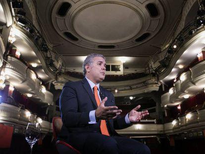 En vídeo, entrevista al presidente electo de Colombia, Iván Duque, realizada este lunes en el Teatro Alcázar de Madrid.