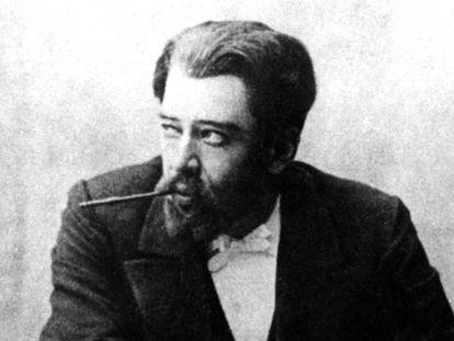 Konstantín Stanislavski como Astrov en el