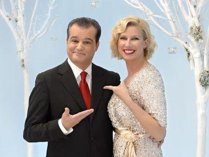 Ramón García y Anne Igartiburu presentarán las campanadas juntos por cuarta vez en Televisión Española.
