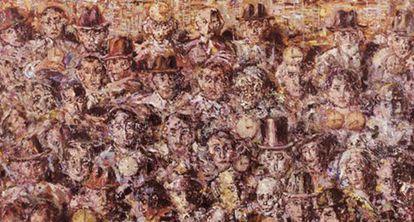 Una de las obras de Enrique Ochoa que puede verse Málaga.