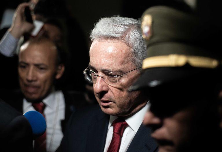 El expresidente de Colombia, Álvaro Uribe, en una imagen de archivo.