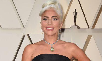 Lady Gaga, en los Oscar de 2019.