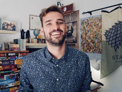 El profesor José Antonio Lucero, creador del canal de Historia 'La cuna de Halicarnaso'