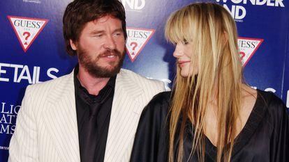Daryl Hannah y Val Kilmer en un estreno en Hollywood en 2003.