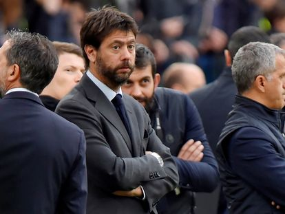 Andrea Agnelli, presidente de la Juventus e impulsor de la nueva Superliga europea.