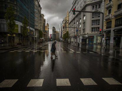 La expansión del virus por nuestro país y la declaración del estado de alarma el 14 de marzo dejaron un panorama nunca visto en nuestra democracia: ciudades casi sin gente ni actividad.
