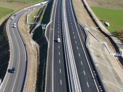 Tramo de una autopista de Sacyr en Italia, en una imagen de archivo facilitada por la compañía.