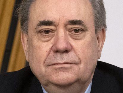 El exlíder del SNP Alex Salmond, el 26 de febrero en Edimburgo.