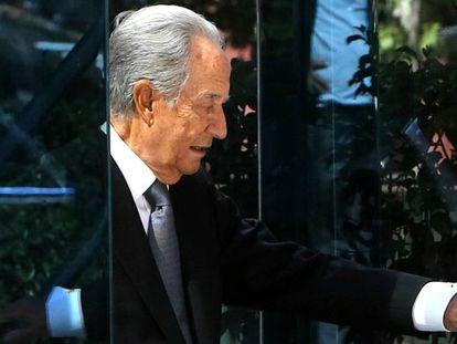 El empresario Juan Miguel Villar Mir sale de la Audiencia Nacional el pasado 12 de septeimbre tras declarar ante el juez del 'caso Lezo'.