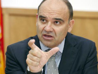 Manuel Palomer, rector de la Universidad de Alicante.