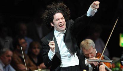 Gustavo Dudamel, durante un concierto.