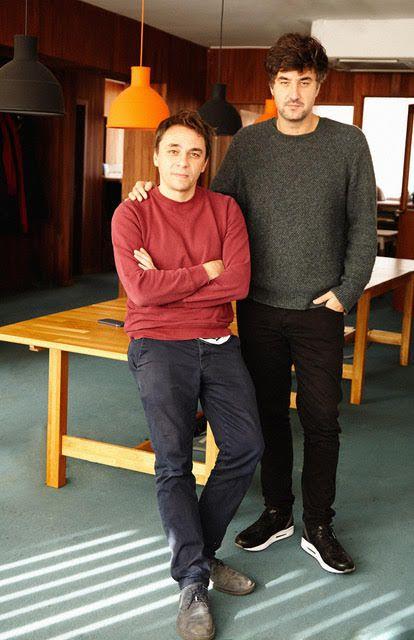 Nicolas Mendes (izquierda) y Lope Serrano de la foto de producción canadiense, en una foto de cortesía.