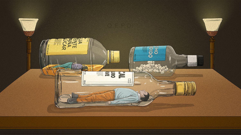 Una ilustración de Héctor Humán.