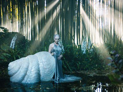 Fotograma de la película presentada por Dior dirigida por Matteo Garrone, durante la Alta Costura de París.