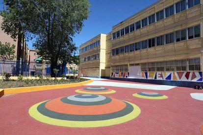 Patio del Colegio Valle Inclán.