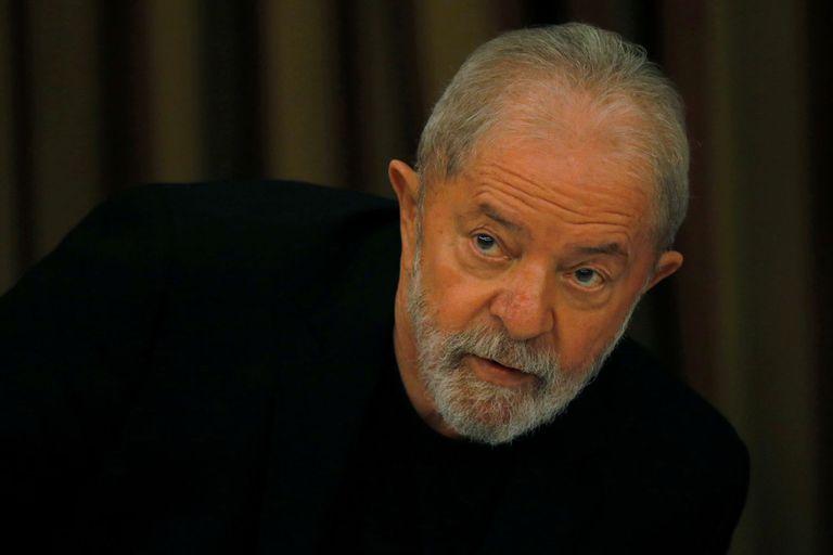 El expresidente Lula en una reunión del Partido de los Trabajadores en febrero de este año, en Brasilia.