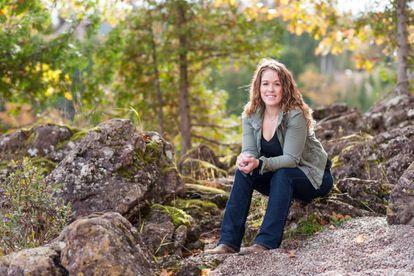 Jessica, una de las pacientes con esclerosis múltiple.