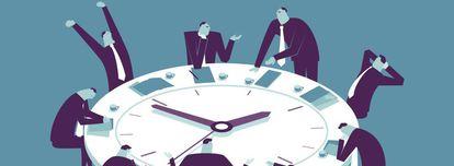 Cuatro de cada diez reuniones que celebramos son imprevistas.