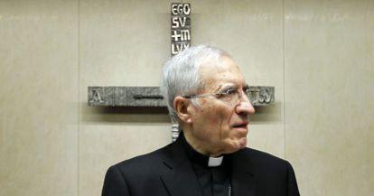 El presidente de la Conferencia Episcopal Española ( CEE) , Antonio María Rouco Varela.