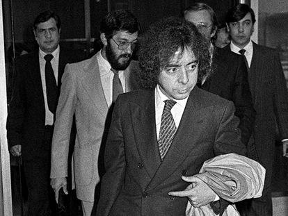 El exinspector Antonio González Pacheco, alias 'Billy el Niño', en 1981 en Madrid.