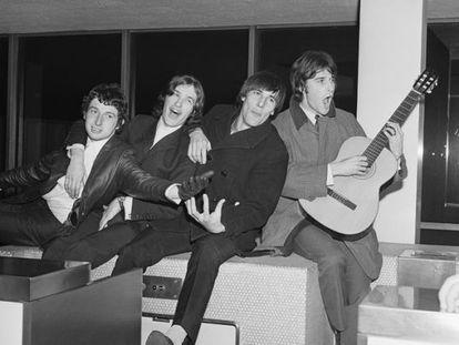 The Kinks en una imagen de 1965.